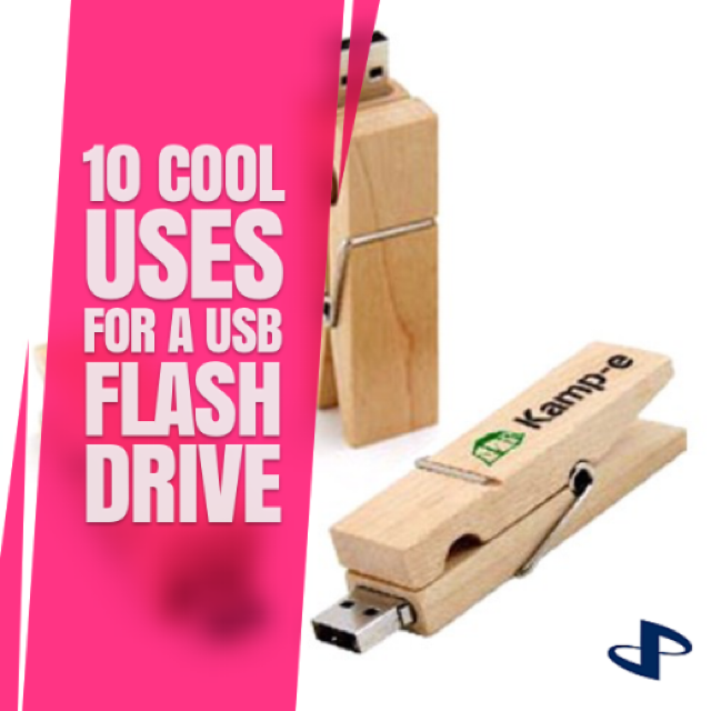 10 Cool Uses for a USB Flash Drive