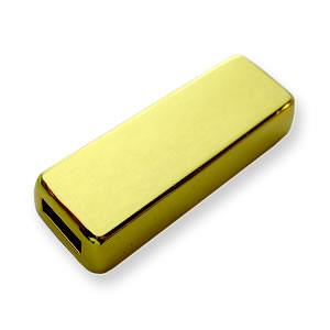 GOLD INGOT - Custom USB Flash Drive - Metal
