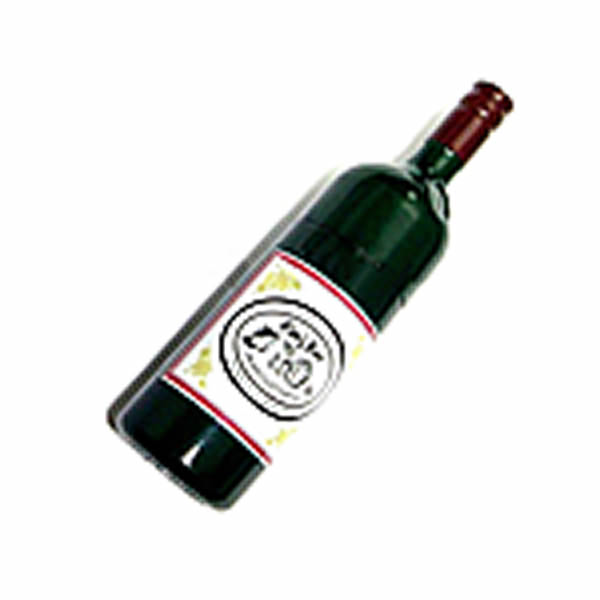 USB Flash Drive - RED WINE BOTTLE
