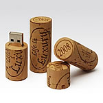 USB Flash Drive - WINE CORK
